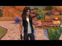 The Sims 4 - Twisted Wonderland CAS - Creando Leona Kingscholar - YouTube