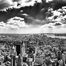 New York City Black and White iPad Air Wallpaper Download | iPhone .