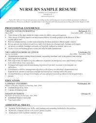 Sample Resume Nurse Practitioner Nursing Resume Keywords Sample
