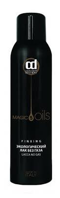 Constant Delight 5 Magic oils Экологический <b>лак для волос без</b> газа
