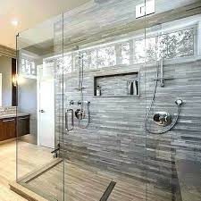 replace tub shower faucet with large walk in porcelain tile install combo a showe