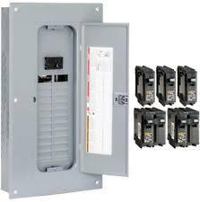 square d 100 amp panel ebay Square D Fuse Box square d circuit breaker panel box 100 amp indoor main plug neutral load center square d fuse box wiring