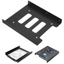Metal Hard Drive Holder Dock 2.5 inch to 3.5 inch <b>SSD HDD</b> ...