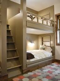 bunk bed built in bunks and built ins on pinterest bunk bed lighting ideas
