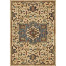 antique merekan eastern beige 8 ft x 11 ft area rug