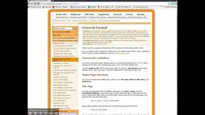Apa Formatting Owl At Purdue Webpage Introductionmp4