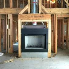 building a gas fireplace how diy installation to build wood burning from scratch image titled clean