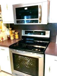 over the stove microwave. Small Over The Range Microwave Ovens Stove Combo