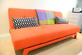 made sofa bed fancy orange sofa bed sofa bed in saffron orange made sofa bed ikea single