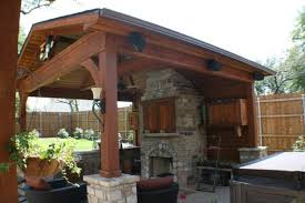 patio fireplace and ideas for perfect covered patio with fireplace