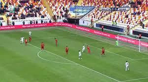 İşte Yeni Malatyaspor Sivasspor maçında Mert Hakan Yandaş'ın attığı enfes  gol!
