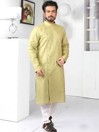 Designer Kurta For Groom Traditional Kurtas For Men Mydesiwear Mens Kurta Designs