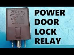 how to remove install power door lock relay how to remove install power door lock relay
