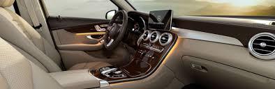 2018 mercedes benz glc interior features