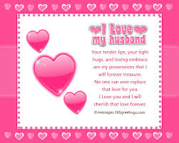Love Messages For Husband 365greetings Com