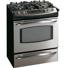 """ge profileâ""""¢ 30 slide in gas range jgs968sekss ge appliances product image"""