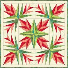 1330 best foundation piecing images on Pinterest | Drawings ... & Two new paper piecing patterns you'll love. Christmas cactus quilted table  topper and Butterfly Garden quilt block. Adamdwight.com