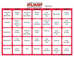 Hip Hop Abs Workout Chart Workout Calendar Hip Hop Abs