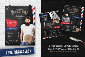 barber flyer barber shop flyer template image collections template design free