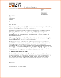 Cover Letter Introduction Paragraph Sample Paragraph For Good