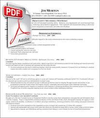 Best Solutions Of Job Resume Samples Pdf Wonderful Templates