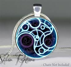 doctor who time lord seal pendant dr who jewelry doctor who tardis