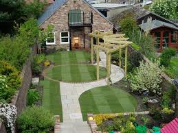 backyard gardening. Nice Backyard Garden Design Ideas With Small Walled Gardening E