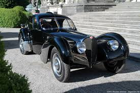The type 57sc chassis was the combination of the supercharged 57c engine with the low and short 57s chassis used for racing. Bugatti Type 57sc Atlantic