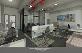 office lofts. architectu0027s rendering of furnished office loom city lofts space _