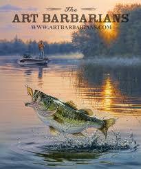 early catch largemouth bass by darrell bush
