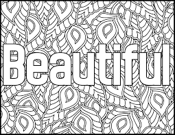 Free Swear Word Coloring Pages Pdf Best Coloring Pages Collection