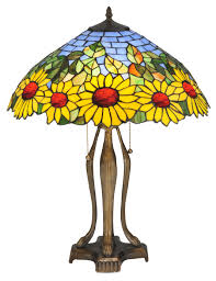 """August Grove® Wansley Sunflower 24"""" Table Lamp & Reviews"""