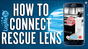 Logmein Light How To Get Connected Using The Logmein Rescue Lens App