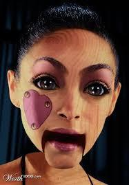 super cool puppet makeup marionette doll
