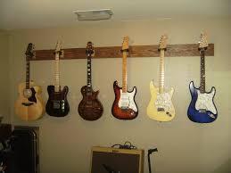 image of guitar wall mount diy
