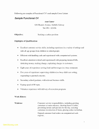 Waiter Resume Sample 60 Sample Resume for Waitressing Free Sample Resume 31
