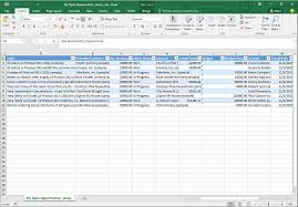 xl spreadsheet templates analyze your data with excel templates for dynamics 365 for customer