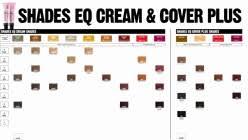 Redken Shades Chart 2018 Design Shades Eq Cream Color Chart Cocodiamondz Com