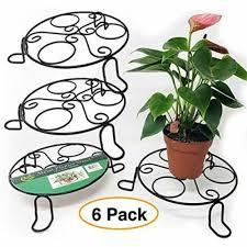 metal stands planter plant flower pot
