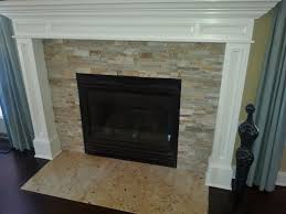 unbelievable stacked stone fireplace with mantle