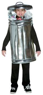 garbage can costume ha