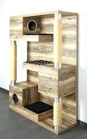cat furniture climbing tower litter box plans free condo pdf tree
