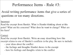 rules for writing test items multiple choice items most popular  30 performance