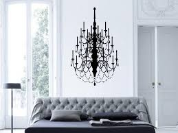wondrous chandelier wall art best interior com fancy vinyl decal decor design stickers canada target