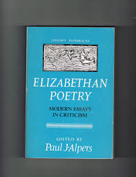 buy elizabethan criticism of poetry a dissertation submitted to elizabethan poetry modern essays in criticism