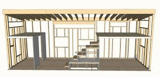 tiny house floor plans post
