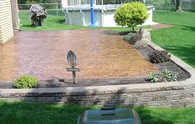the pros and cons of stamped concrete