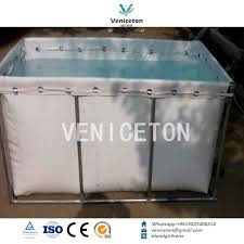 china veniceton flexible water tank used as movable water storage fish tank supplier