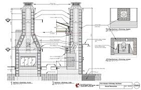foundation for outdoor fireplace designs