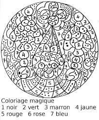 Dessin Enfant Coloriage Magique